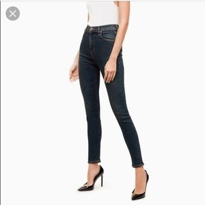 Talula x Agolde Sky-High-Skinny Jeans in size 27